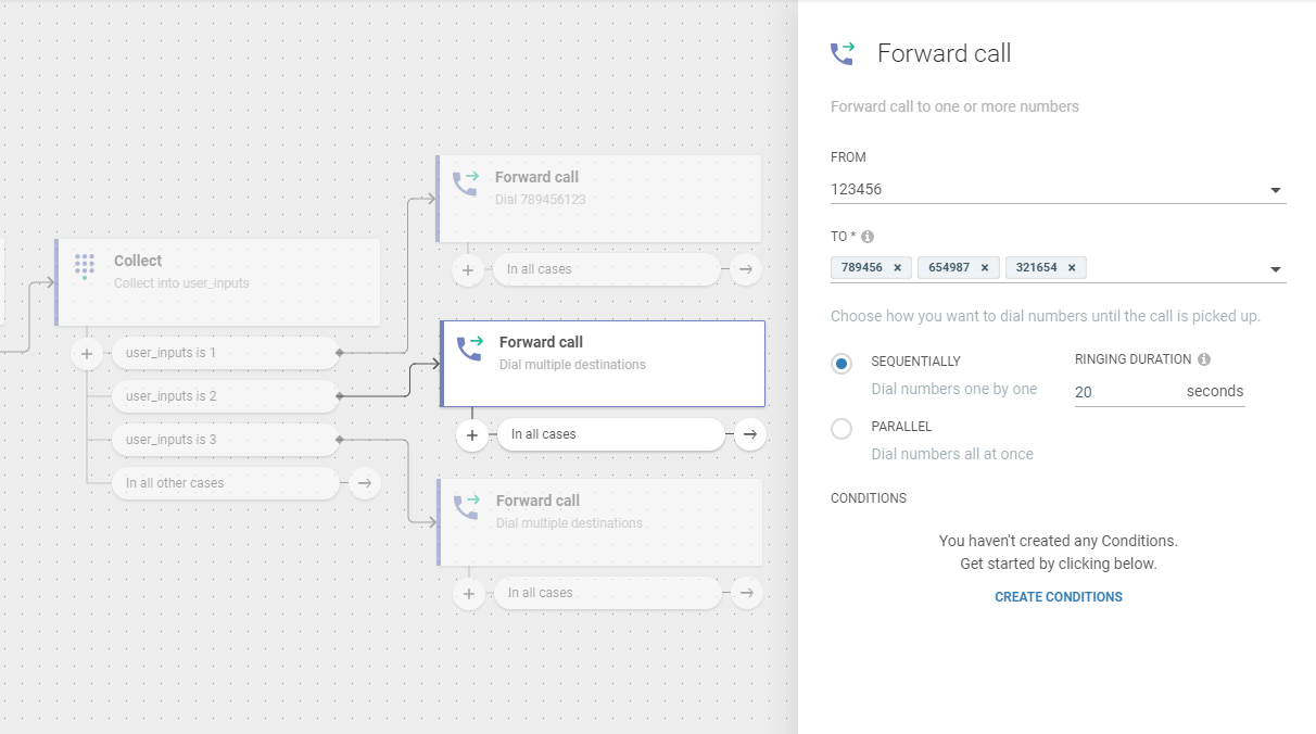 Flow use case -  Improve Customer Care Responsiveness - sequential dialing