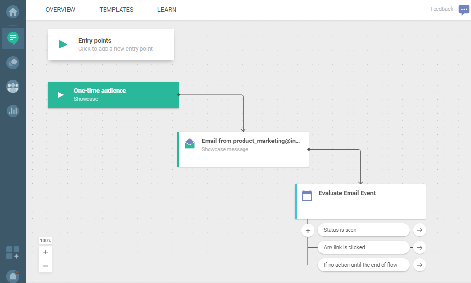 Email - evaluate email event - send email using Flow