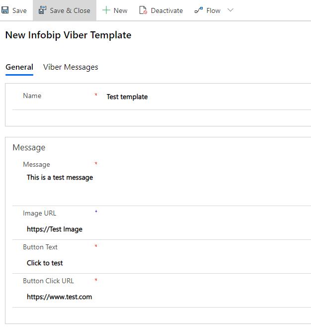 New Infobip Viber Template