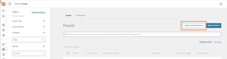 adding profiles to data platform
