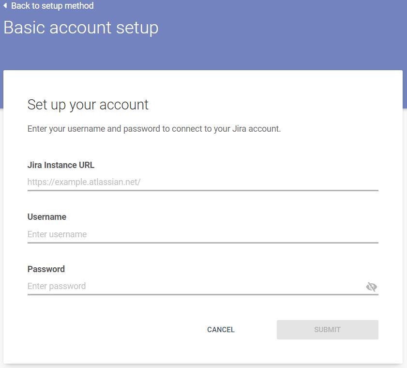Basic account setup - connect Jira to Infobip
