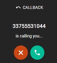 Calls - Callback