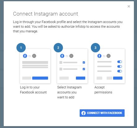 Social Media - Connect Facebook to Instagram