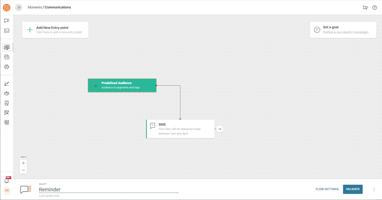 editing templates on customer engagement platform