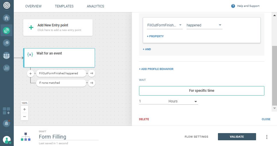 event tracking on communication platform