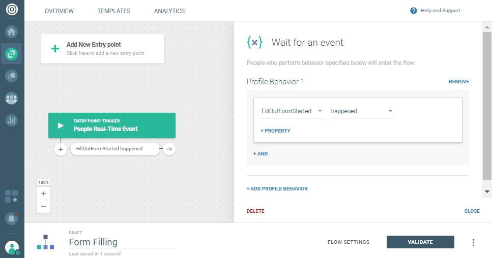 event trigger on communication platform