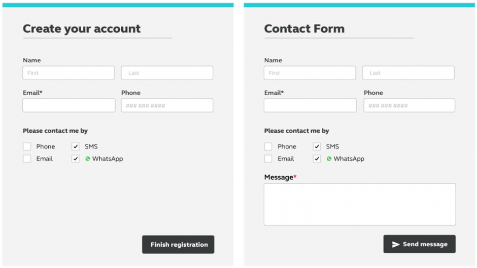 Form Opt-in
