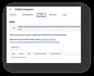 Google Play Reviews - Keys tab
