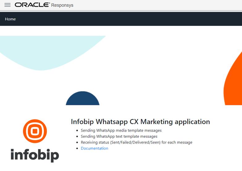 Infobip WhatsApp CX Marketing application