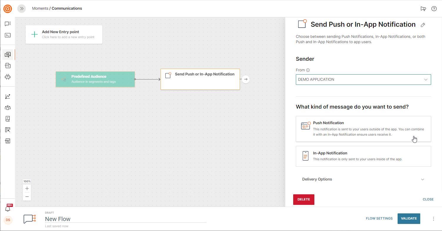 mobile app messaging in saas