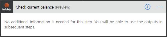 Microsoft Power Automate - Check Current Balance