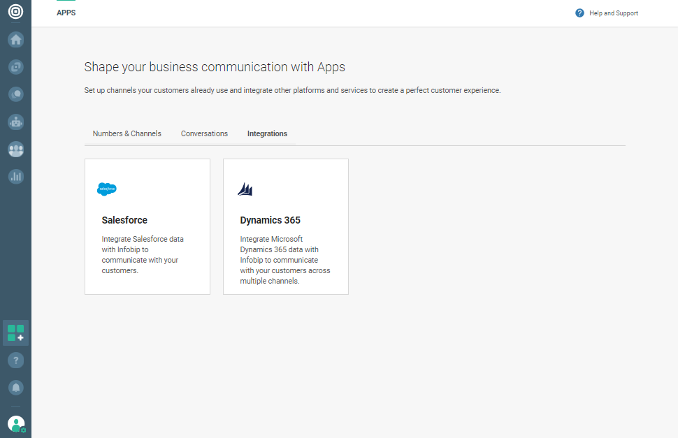 Infobip People data platform integration with Microsoft Dynamics