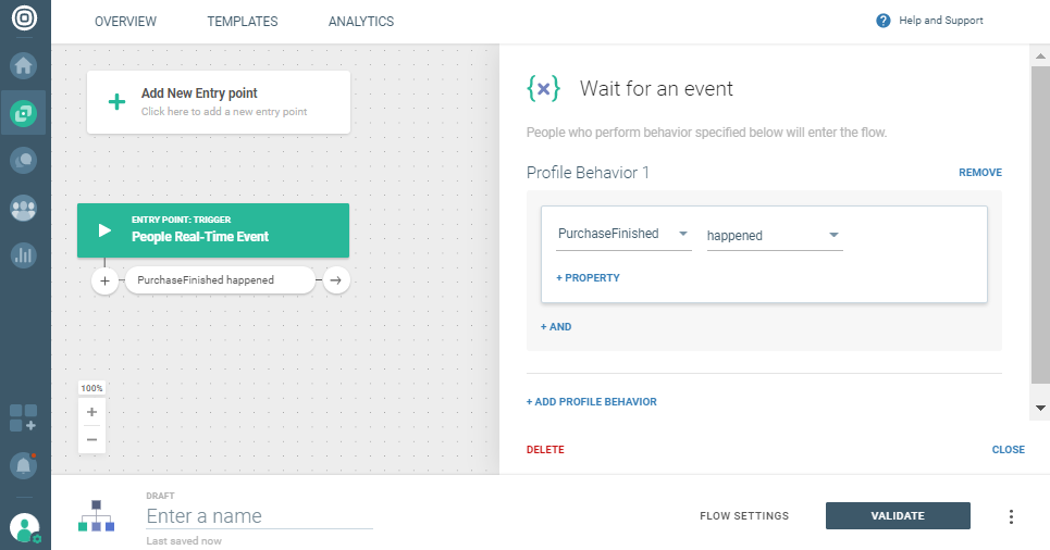 change on communication platform based on new people profile information