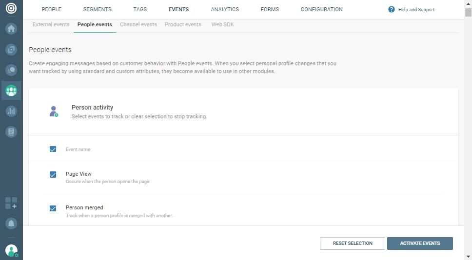 merging profiles on data platform