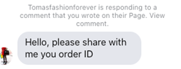 Social Media - Private reply to exact FB posts comment