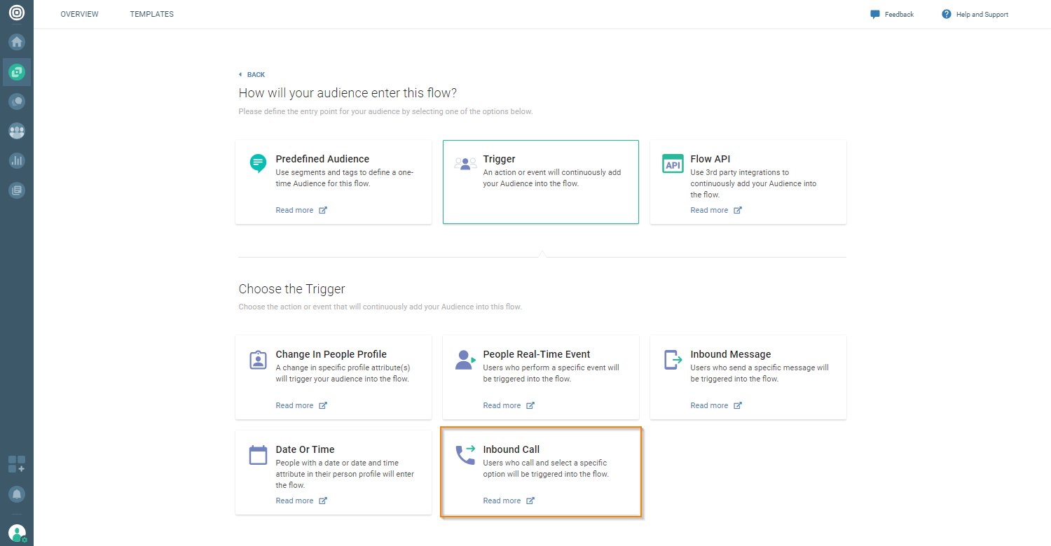 Voice and Video - Create inbound call flow